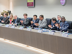 IEA, IEF and OPEC participants attend the 2nd Joint Technical Meeting in Vienna
